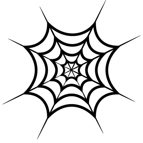 Sticker toile d araignée