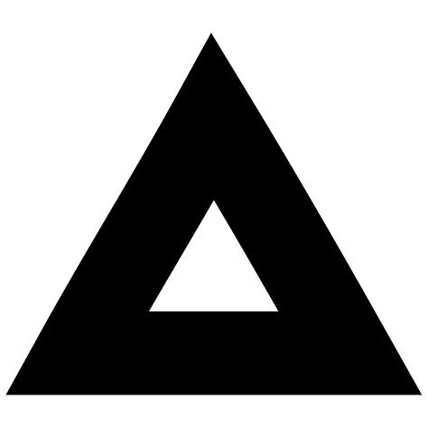 Sticker triangle demie plein
