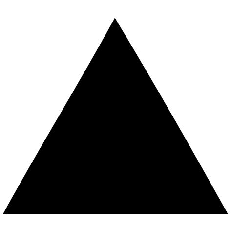 Sticker triangle plein